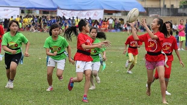 Rugby contribuye a promover la igualdad de genero en Vietnam hinh anh 1