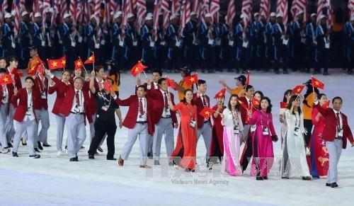 Inauguran XXIX Juegos Deportivos del Sudeste Asiatico en Malasia hinh anh 1
