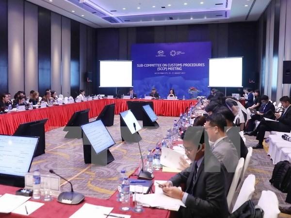 Miembros del APEC debaten la competitividad en el Tratado de Libre Comercio hinh anh 1