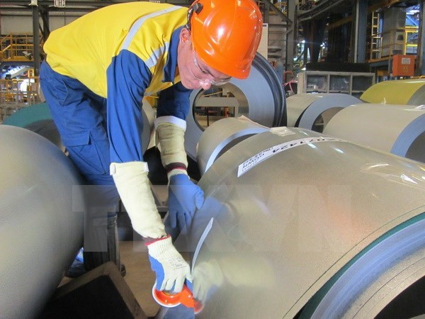 Australia aplica impuesto antidumping a acero zincado de Vietnam hinh anh 1