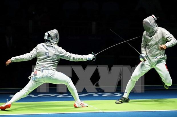 Esgrima brinda a Vietnam su septimo oro en XXIX SEA Games hinh anh 1