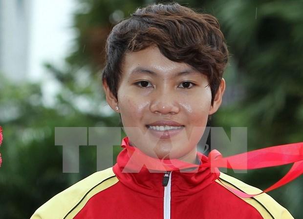 Ciclismo vietnamita obtiene primera medalla de oro en SEA Games 29 hinh anh 1