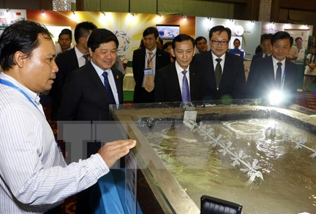 APEC 2017: Efectuan exhibicion sobre nuevas tecnologias en agricultura hinh anh 1