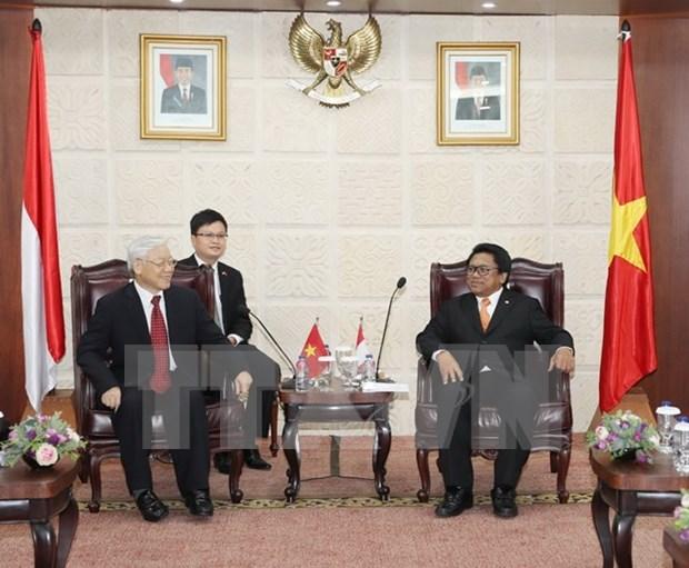 Vietnam e Indonesia apuntan a una asociacion estrategica mas profunda hinh anh 1