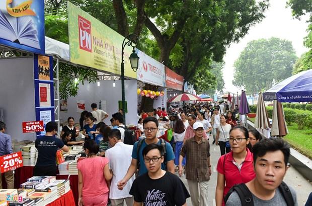 Inauguran Feria Internacional del libro de Vietnam hinh anh 1
