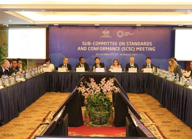 Efectuan segunda reunion del Subcomite de Estandares y Conformidad del APEC hinh anh 1