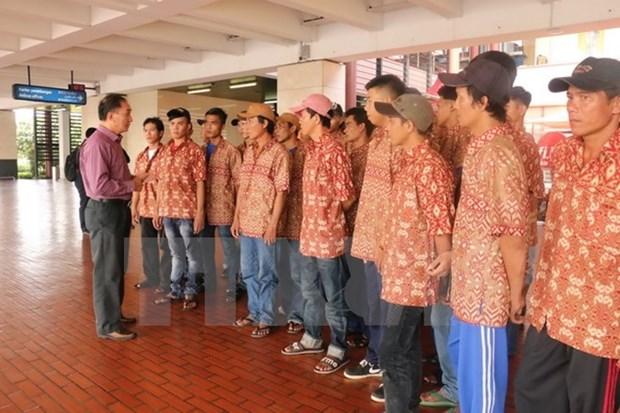 Tailandia repatria a nueve pescadores vietnamitas hinh anh 1