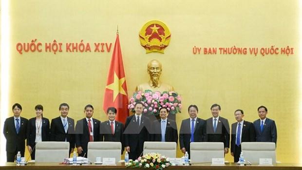 Proponen aumentar intercambio entre parlamentarios jovenes de Vietnam y Japon hinh anh 1