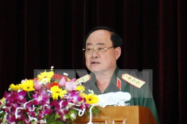 Sector de Servicios militares de Vietnam y Laos refuerzan colaboracion hinh anh 1