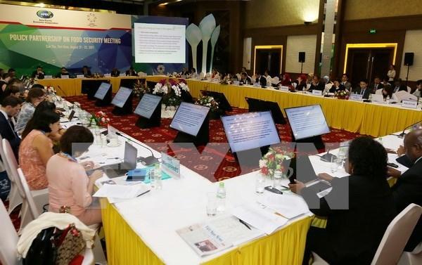 Grupos de trabajo de APEC buscan impulsar la seguridad alimentaria y desarrollo agricola sostenible hinh anh 1