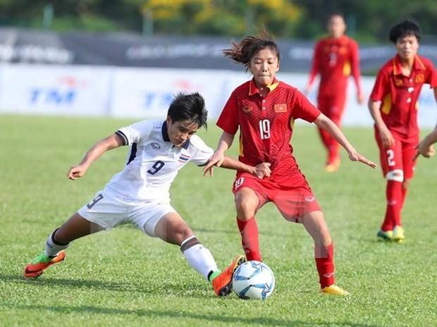 SEA Games 29: Vietnam y Tailandia comparten oportunidades de ganar oro en futbol femenino hinh anh 1