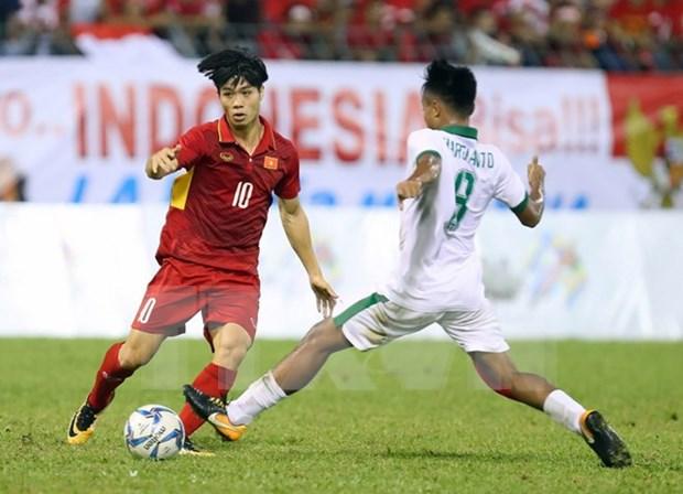 Seleccion vietnamita de futbol continua invicta en SEA Games 29 hinh anh 1