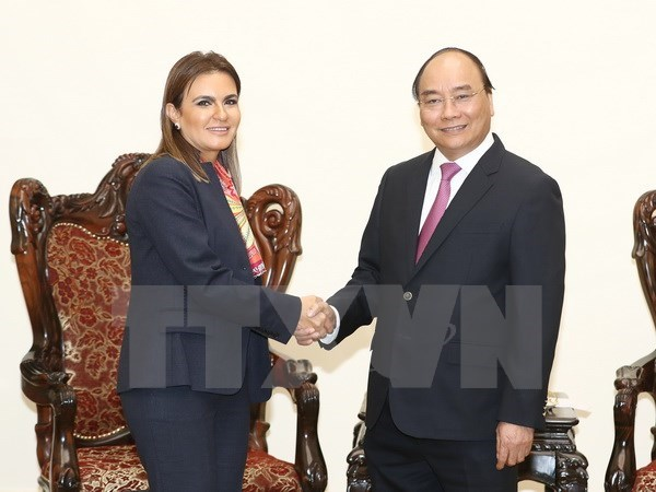 Premier vietnamita expresa confianza en desarrollo de cooperacion comercial con Egipto hinh anh 1