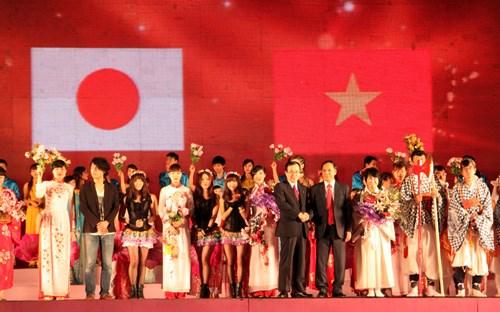 Celebran segundo intercambio juvenil Vietnam-Japon hinh anh 1