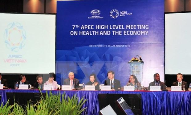 SOM3 de APEC: Continuan debates sobre salud y comercio hinh anh 1