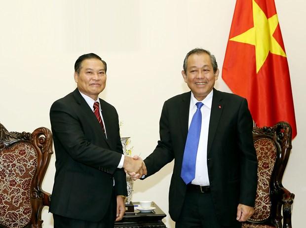Destacan cooperacion Vietnam-Laos en asuntos religiosos hinh anh 1