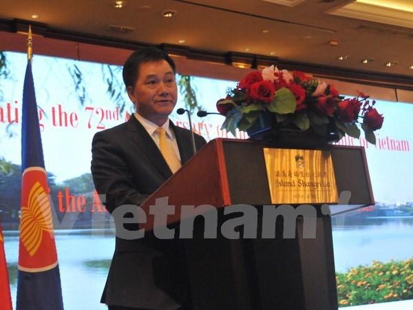 Conmemoran en Hong Kong Dia Nacional de Vietnam hinh anh 1