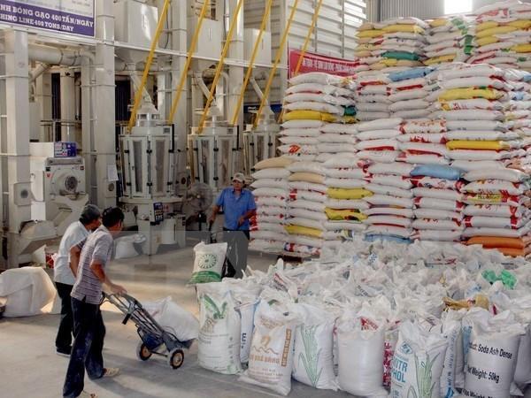 Exportaciones de arroz de Laos decrecen en 42 por ciento en primer semestre de 2017 hinh anh 1