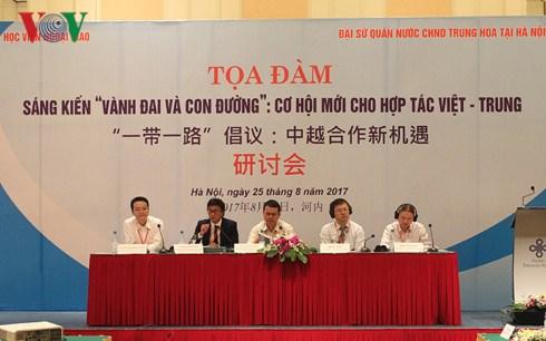 """""""La Franja y la Ruta"""", nueva oportunidad para cooperacion Vietnam-China hinh anh 1"""