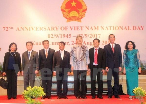 Vietnamitas en el extranjero celebran el Dia Nacional de Independencia hinh anh 1