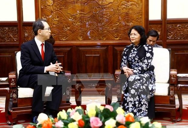 Vicepresidenta llama a inversiones japonesas en Vietnam hinh anh 1