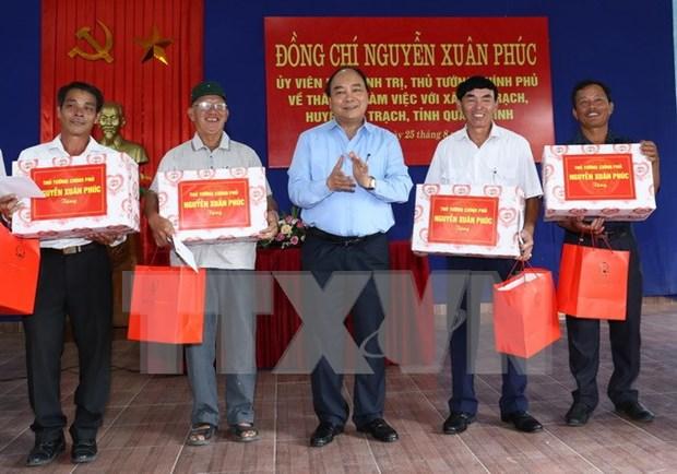 Resaltan esfuerzos de localidad vietnamita por mitigar secuelas de incidente ambiental hinh anh 1