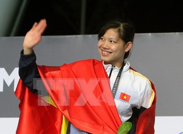 Vietnam mantiene segunda posicion en medallero de SEA Games 29 hinh anh 1