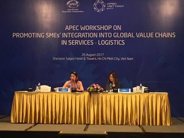 Economias de APEC impulsan participacion de PyMEs en cadenas mundiales de valor hinh anh 1