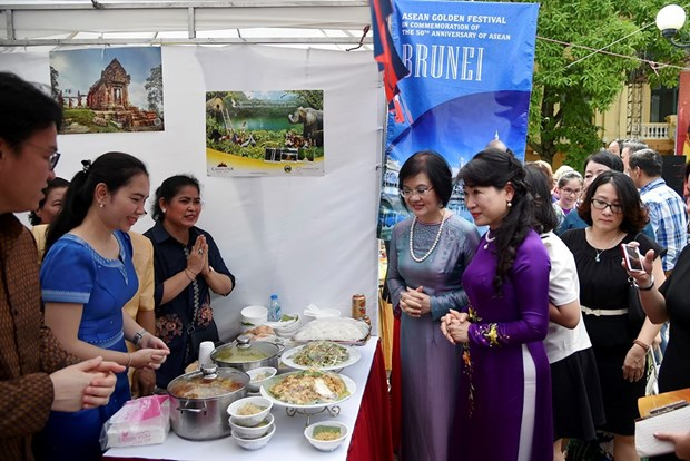 Festival Aurea marca aniversario 50 de la fundacion de ASEAN hinh anh 1
