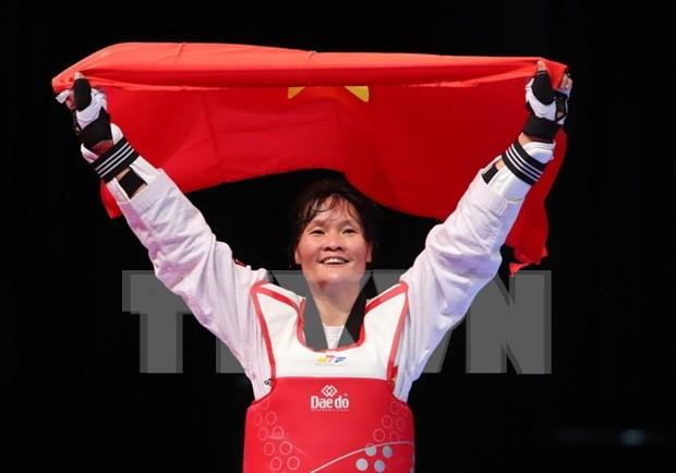 Vietnam mantiene segundo lugar en medallero de SEA Games 29 hinh anh 1