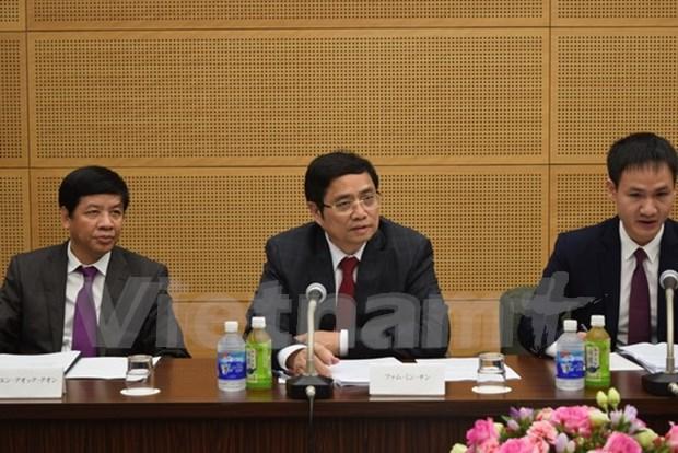 Dirigente partidista de Japon aboga por mayores nexos con Partido Comunista de Vietnam hinh anh 1