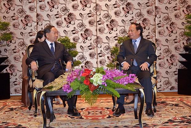 Ciudad Ho Chi Minh aspira a fortalecer nexos con localidades chinas hinh anh 1