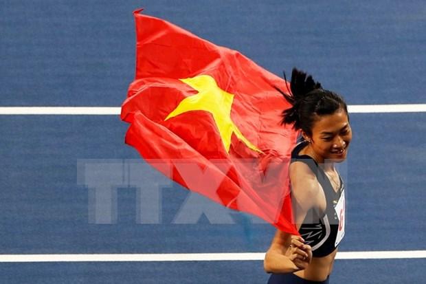 """Vietnam acaba con la """"dictadura"""" de Tailandia en atletismo en SEA Games hinh anh 1"""