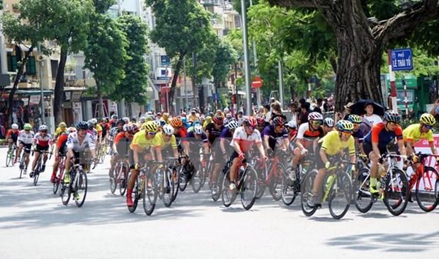 Reportan nutrida participacion en cuarto concurso abierto de ciclismo de Hanoi hinh anh 1