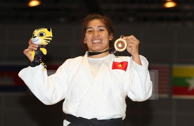 Vietnam desciende a tercer lugar en medallero de SEA Games 29 hinh anh 1