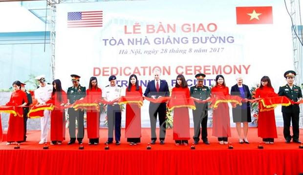 EE.UU. apoya a Vietnam en capacitacion del personal para el mantenimiento de la paz hinh anh 1