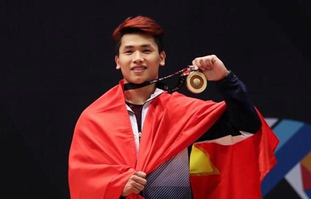 Vietnam mantiene tercera posicion en medallero de SEA Games 29 hinh anh 1