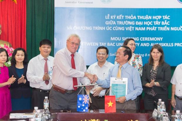 Australia ayuda a universidades de region montanosa nortena de Vietnam hinh anh 1