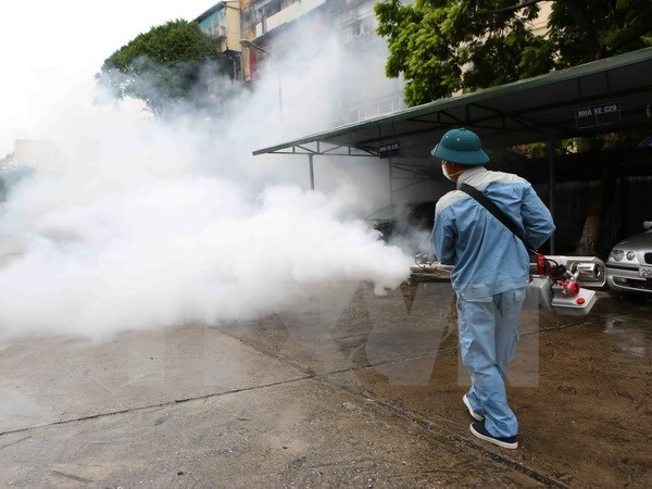 Hanoi logra aliviar presion provocada por dengue hinh anh 1