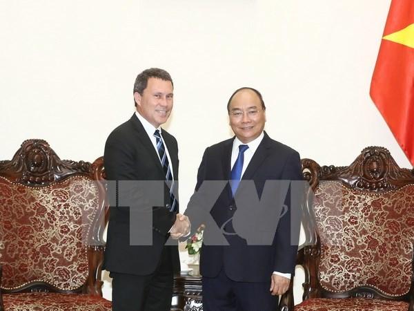 Dispuesto Vietnam a favorecer operaciones de ExxonMobil hinh anh 1