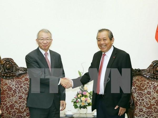 Vicepremier de Vietnam resalta lazos con Sudcorea en esfera judicial hinh anh 1