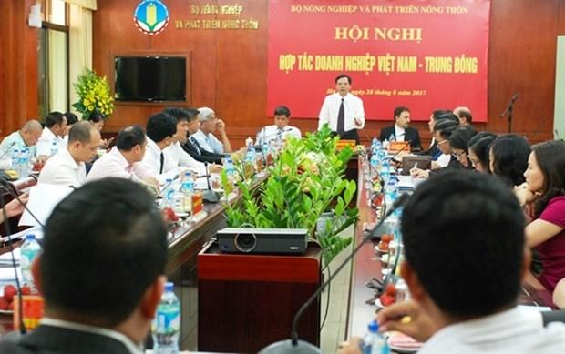 Vietnam busca medidas para promover exportaciones a Medio Oriente hinh anh 1