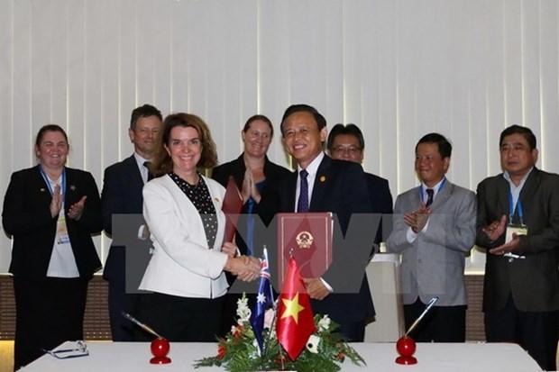 Destacan potencial de los lazos Vietnam- Australia en agricultura hinh anh 1