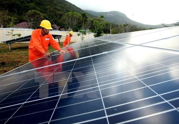 Grupo sudcoreano construye en provincia vietnamita complejo de energia renovable hinh anh 1