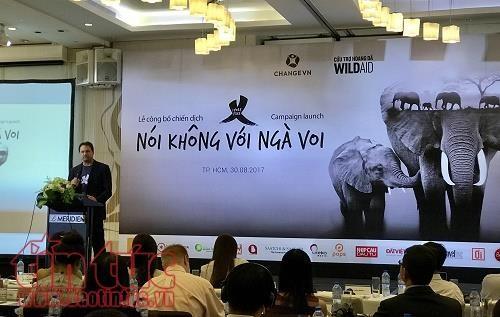 Vietnam lanza campana de concienciacion contra comercio de colmillos de elefantes hinh anh 1
