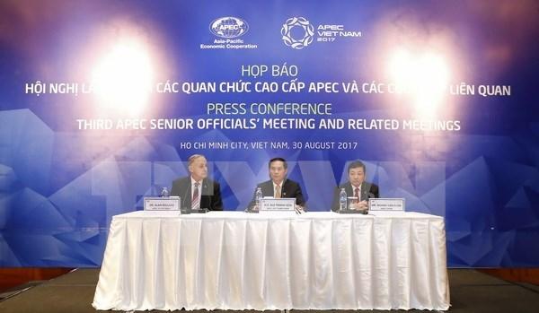 APEC SOM3 y reuniones relacionadas concluyen en Ciudad Ho Chi Minh hinh anh 1