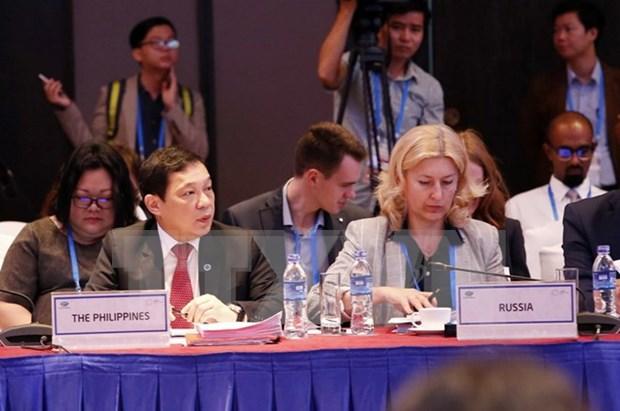 Economias de APEC debaten asuntos comerciales y financieros hinh anh 1