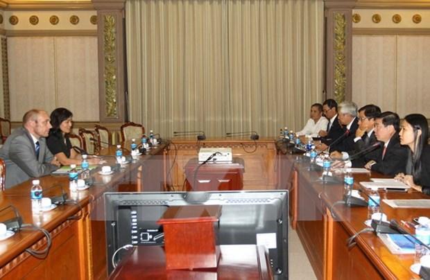 Banco aleman considera prestamos para proyectos en Ciudad Ho Chi Minh hinh anh 1