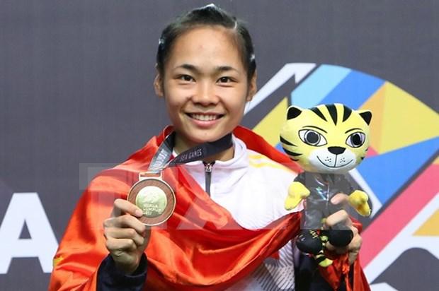 Pencak Silat ayuda a Vietnam a mantener su posicion en SEA Games 29 hinh anh 1