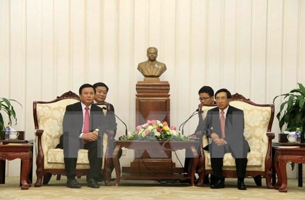 Pensamiento de Ho Chi Minh y Kaysone Phomvilhane: base para revolucion de Vietnam y Laos hinh anh 1